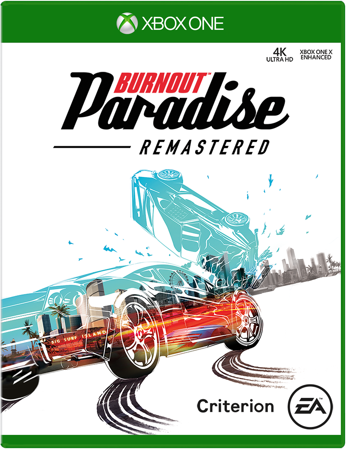 Burnout Paradise Remastered For Xbox One