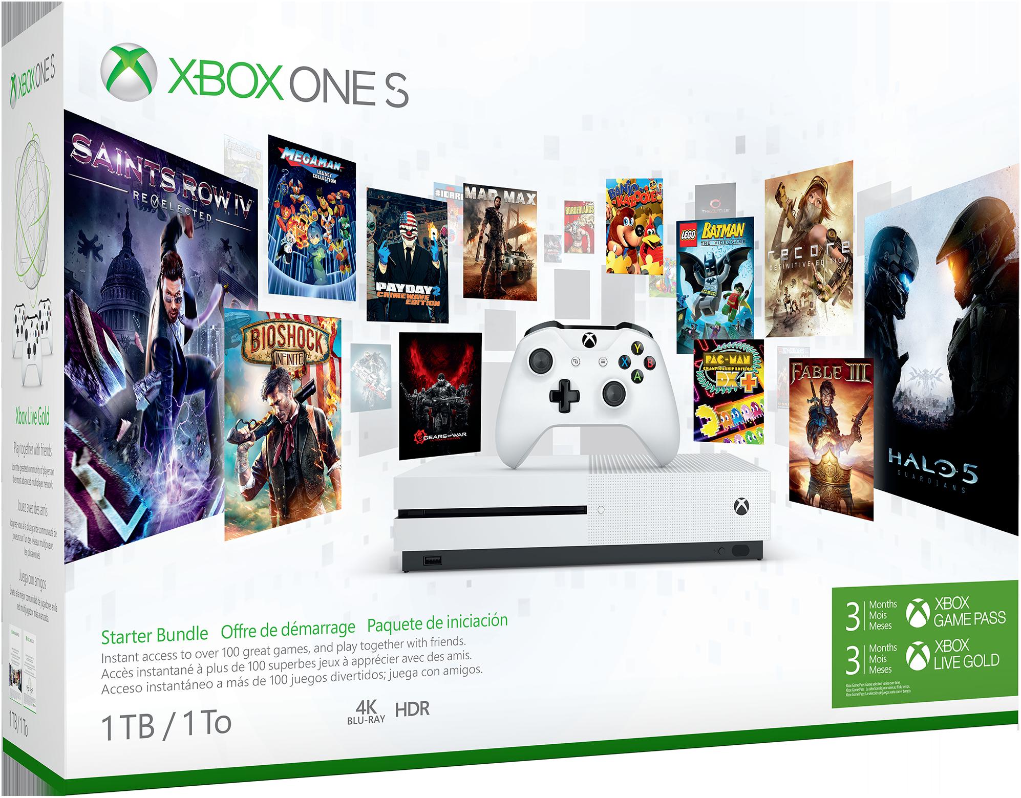 Bild von Xbox One S Game Pass-Bundle (1 TB)