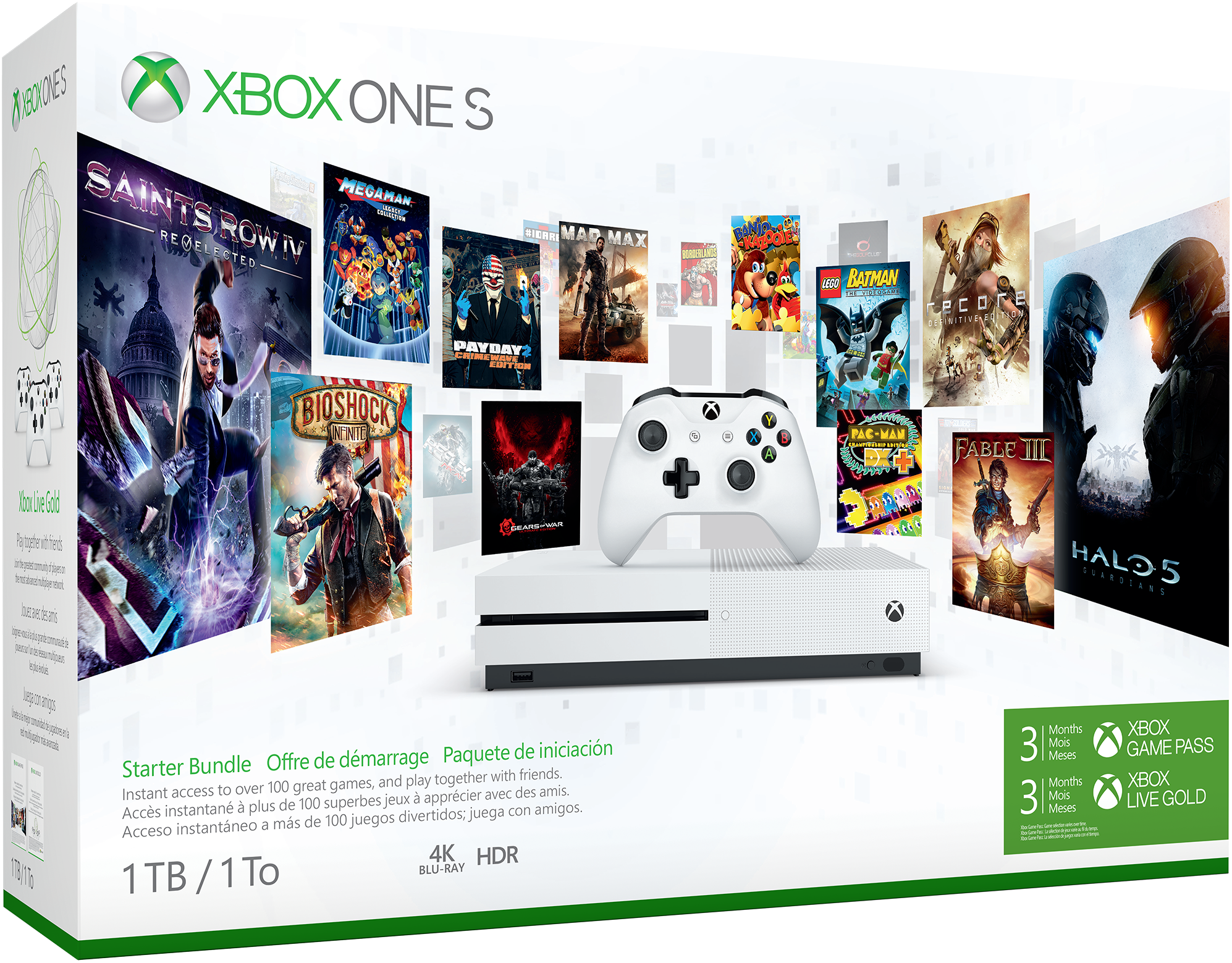 Xbox One S-Starter-Paket (1TB)