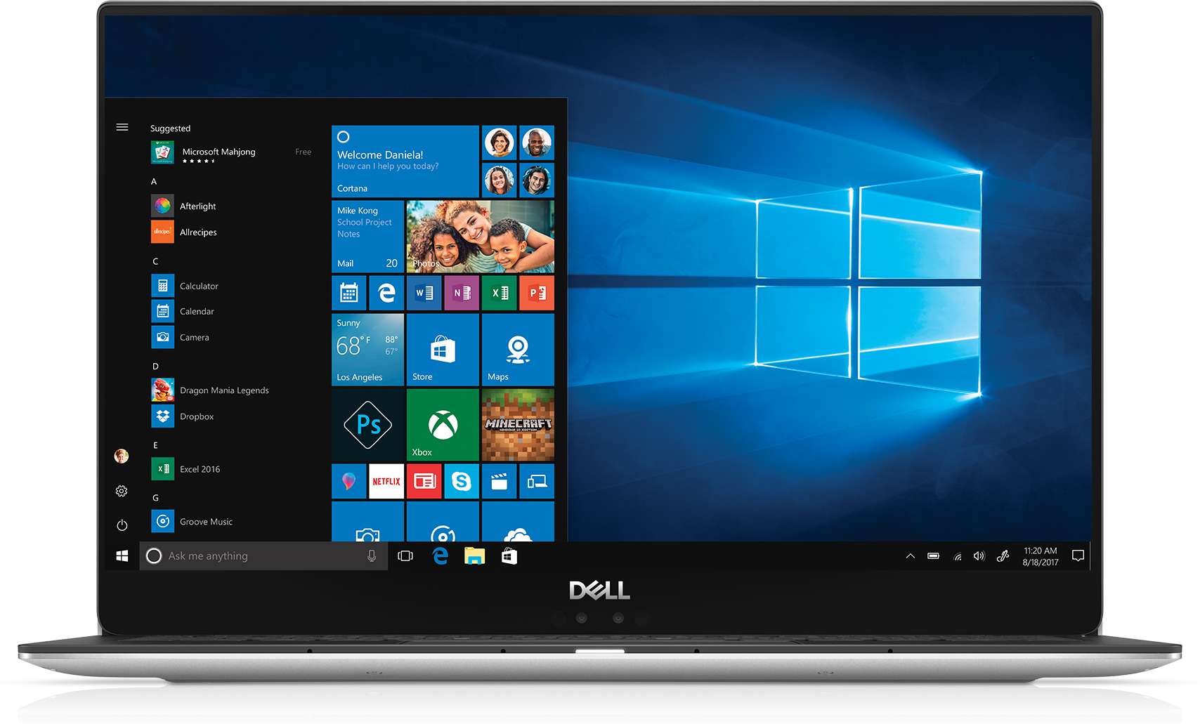 Dell XPS 13  - Silver