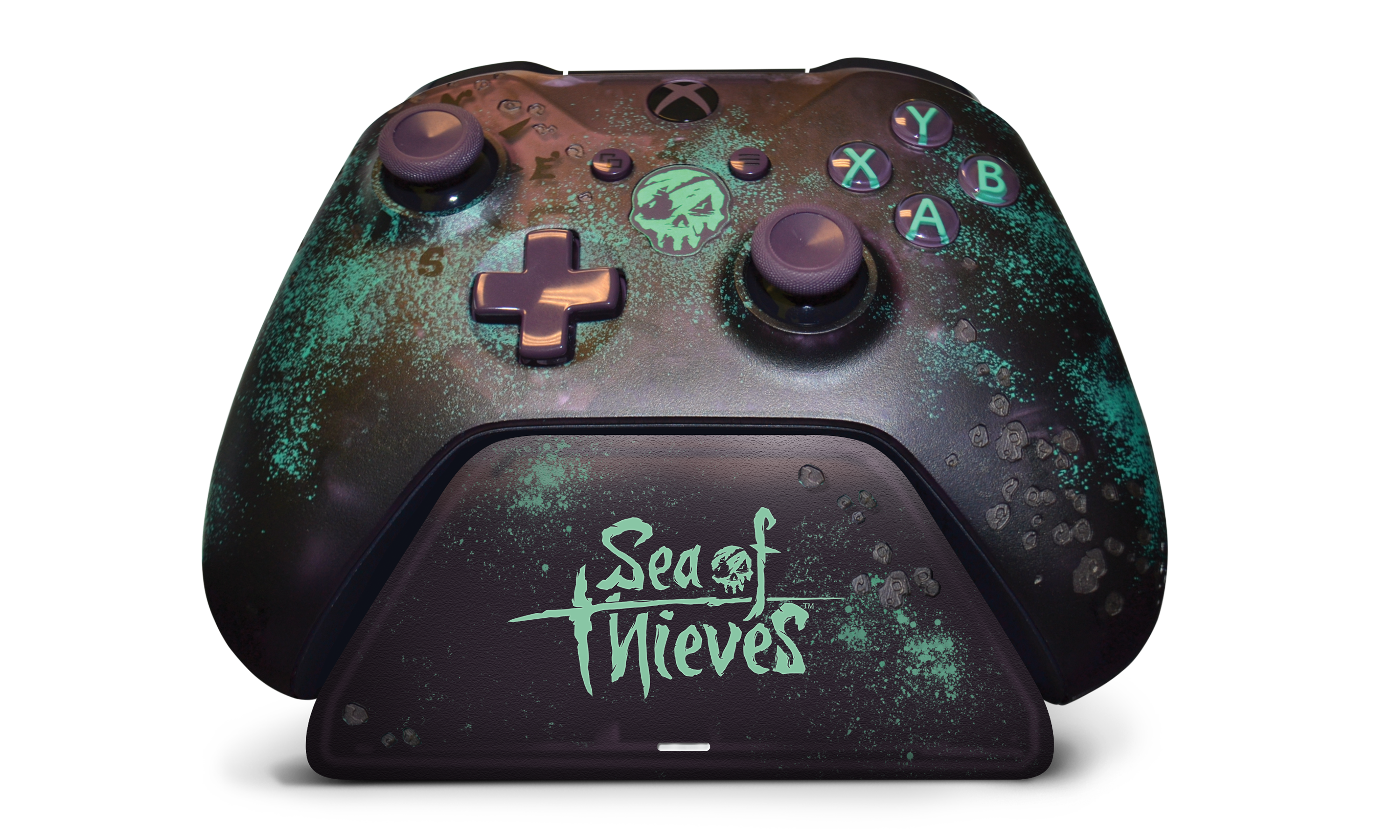 Sea of Thieves Limited Edition Xbox Pro Charging Stand with controller