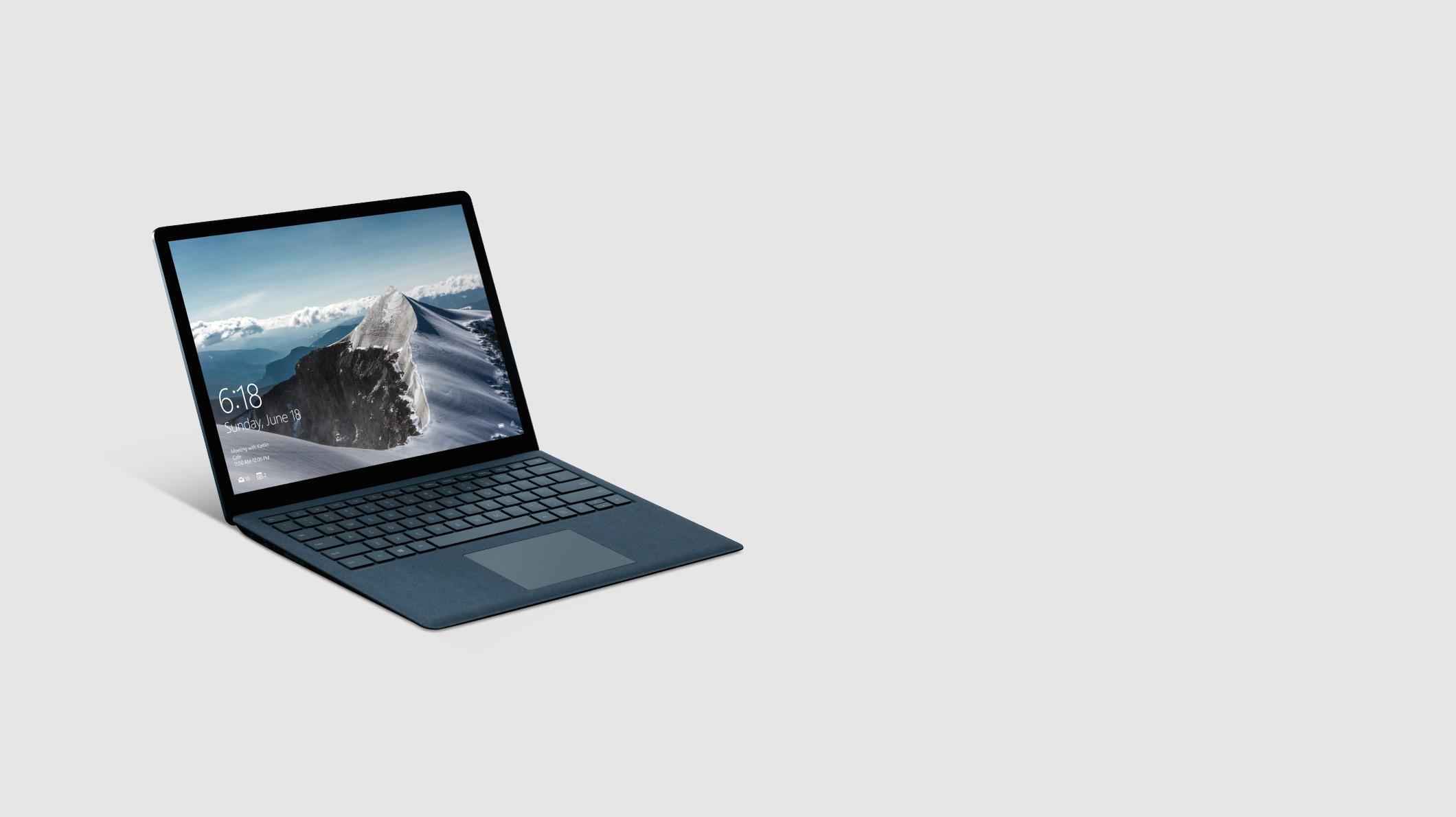 A Surface Laptop