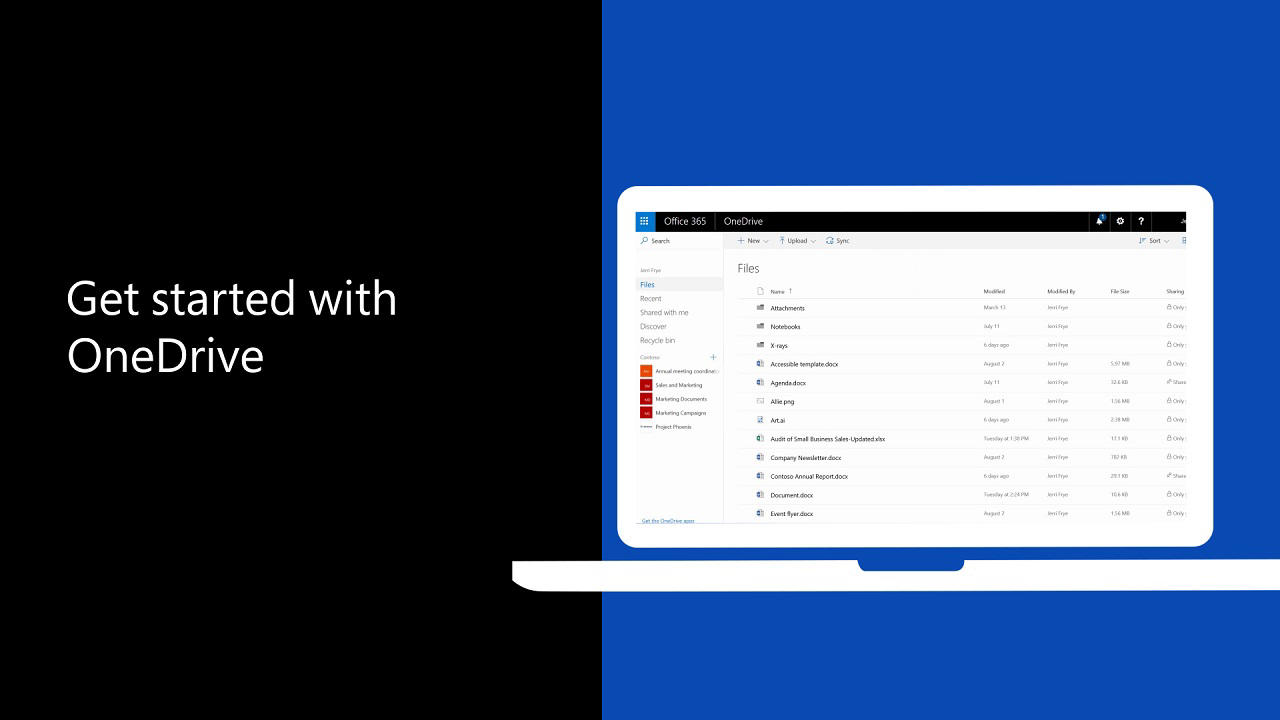what is onedrive for business office support