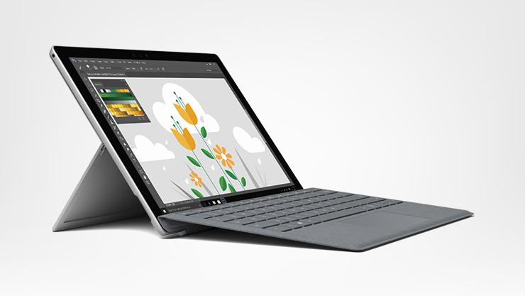 Surface Pro de face