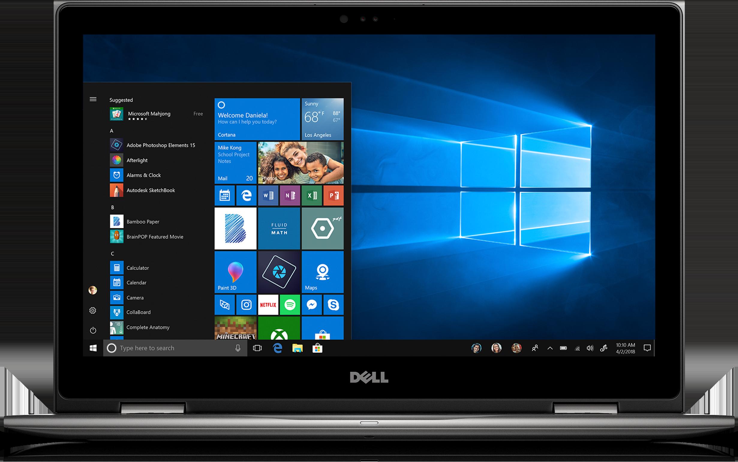 Dell Inspiron 15 5579 2 in 1 PC• 15.6-inch Full HD touchscreen • Intel i5 8th Gen • 8GB memory/1TB HDD
