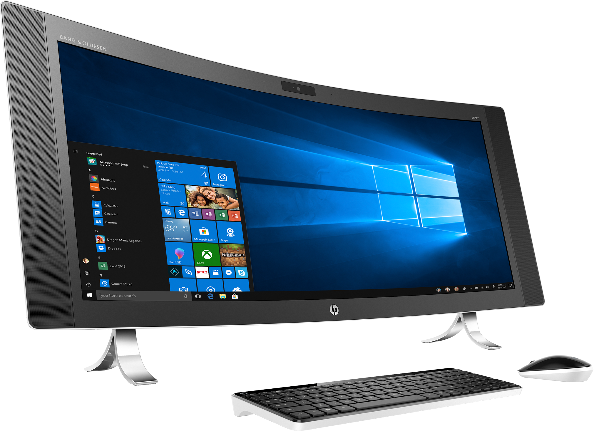 HP ENVY Curved 34-A051 Signature Edition All-in-One