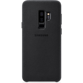 Samsung S9 black textured phone case from the back