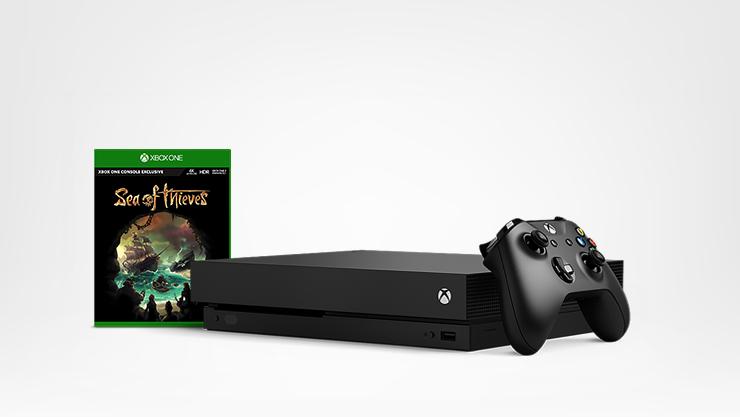 Xbox One X con gioco Sea of Thieves