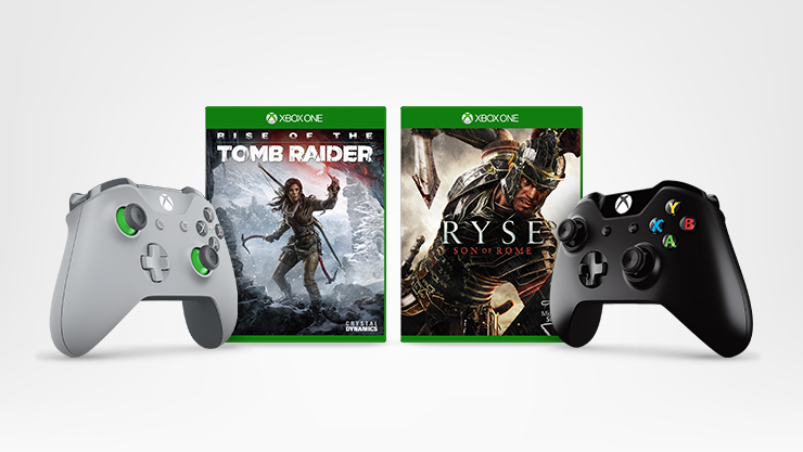 Xbox controller and two free games