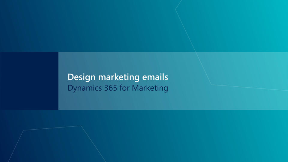 Design, preview, check, and send marketing emails (Dynamics 365 for ...