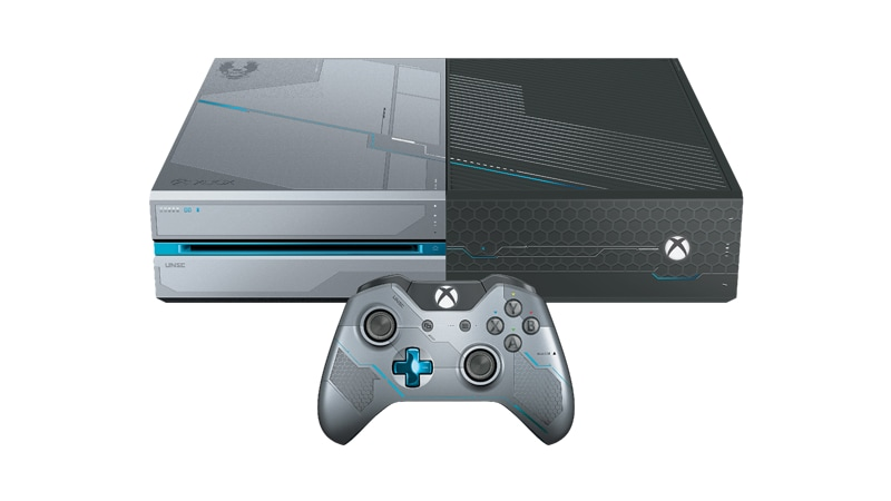 Special edition xbox one console and controller