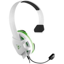 Turtle Beach Recon Chat White Gaming Headset Xbox One main view