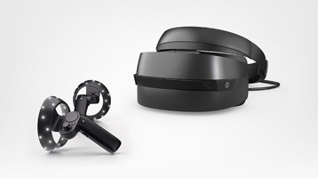 HP, Dell visor, ASUS Headset, WMR headsets
