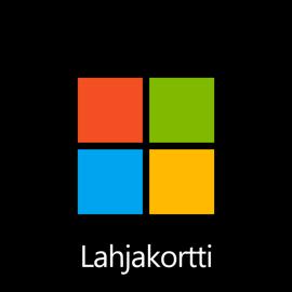 Microsoft-lahjakortti – digitaalinen koodi: 75,00 €