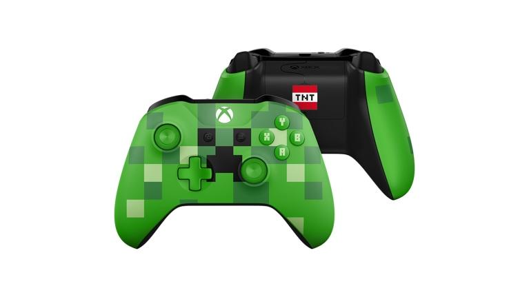 a6ee10b875696 Mando Inalámbrico Xbox  Minecraft Creeper - Microsoft