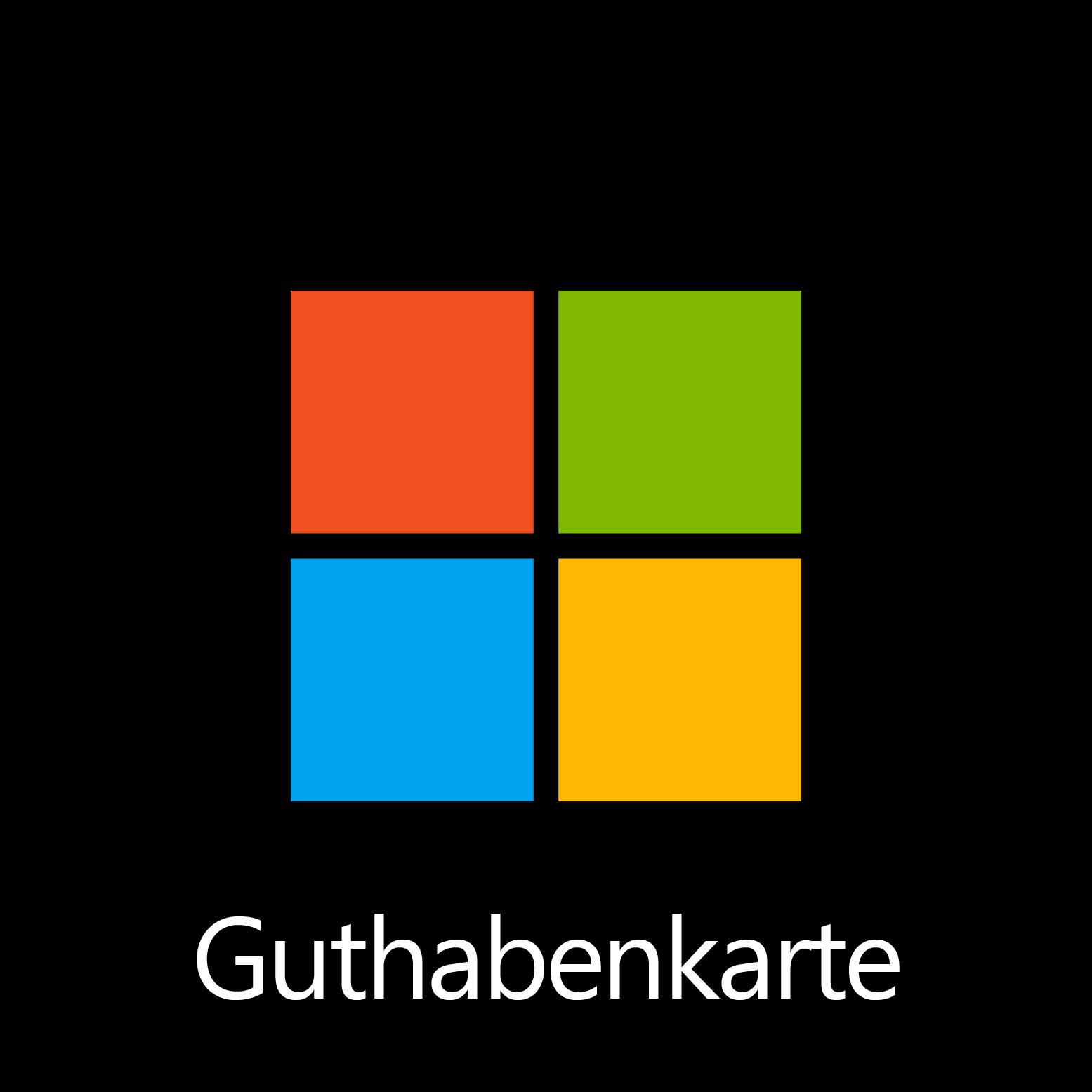 Microsoft-Geschenkgutschein – Digitalcode: € 10,00