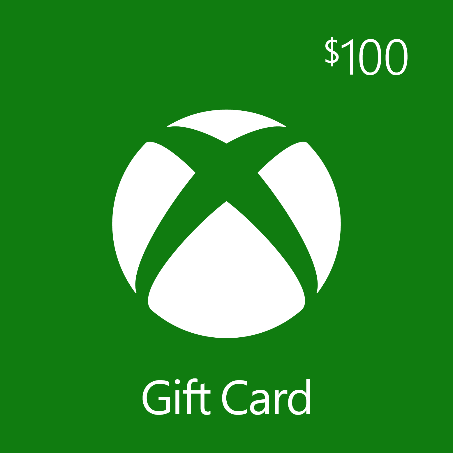 $100.00 Xbox Digital Gift Card