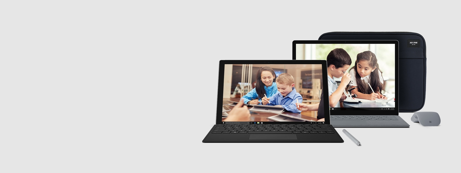 Surface + accessories