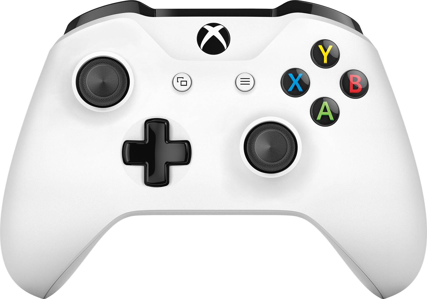Front view of Xbox Wireless Controller