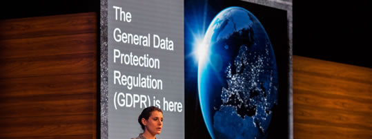 The General Data Protection Regulation (GDPR) is here