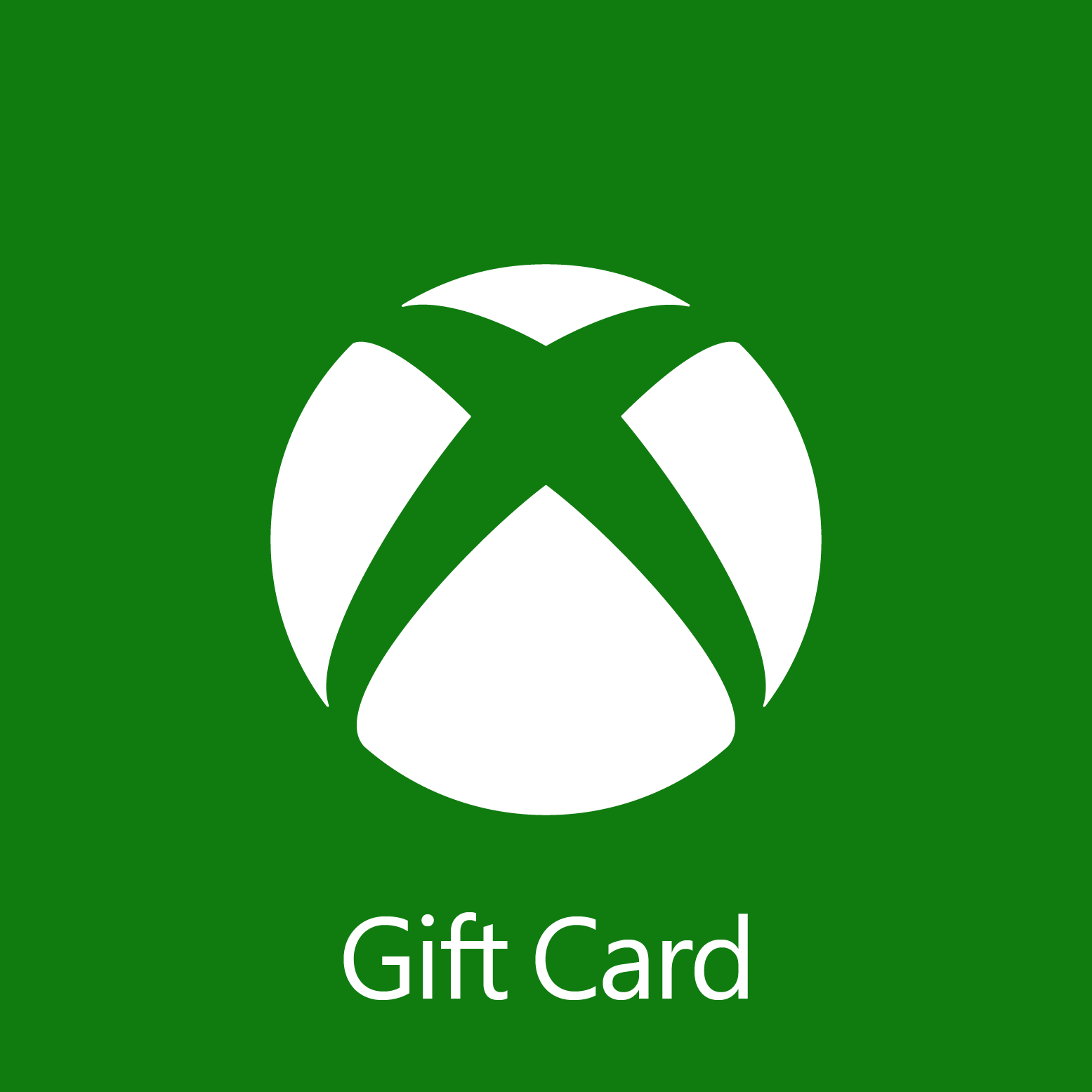 $50.00 Xbox Digital Gift Card