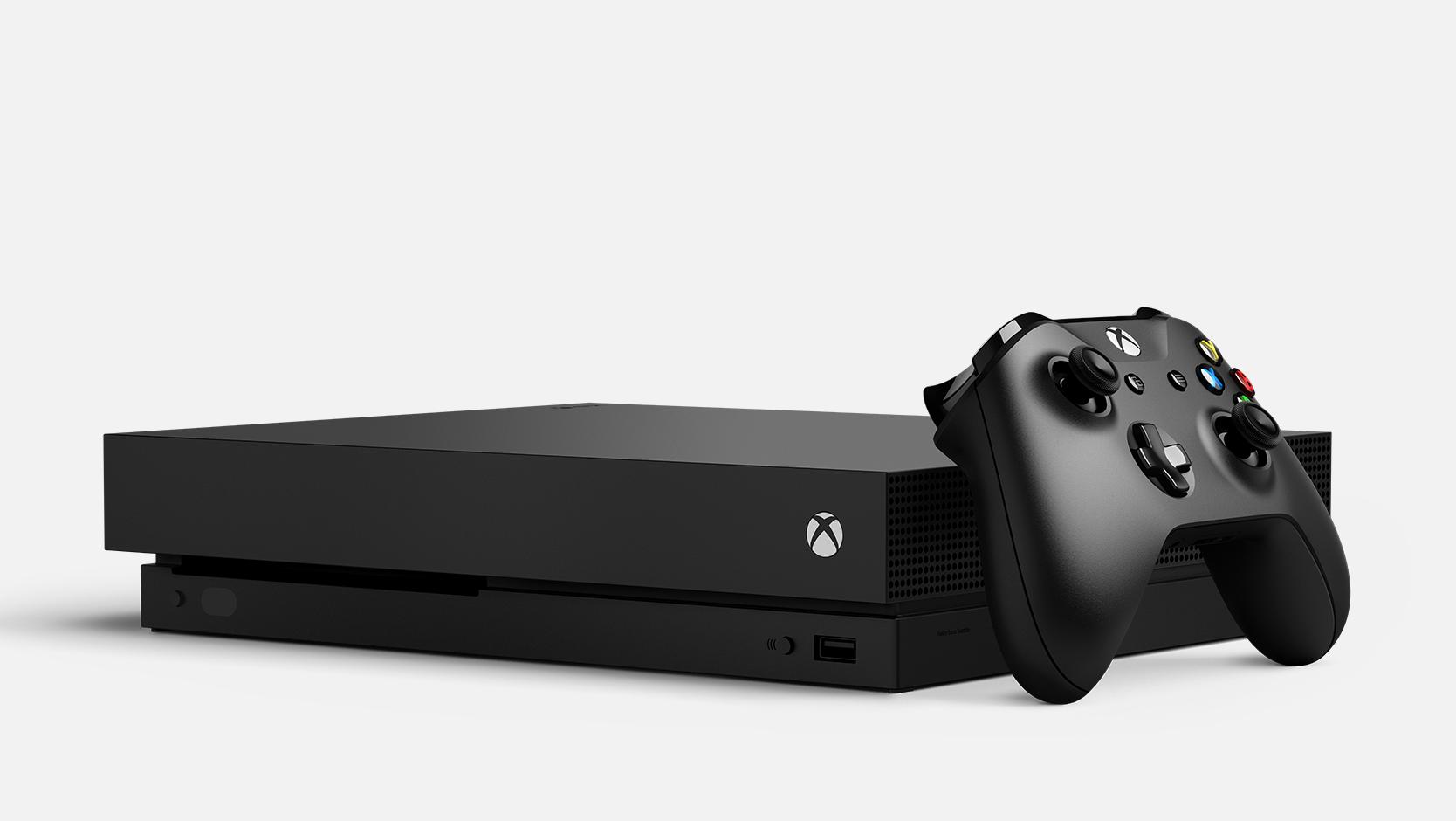 Xbox One X Spielkonole + Spiel (Verschiedene Budles)