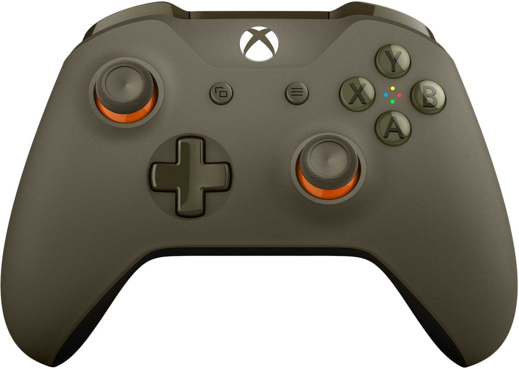 Xbox Wireless Controller - Green/Orange