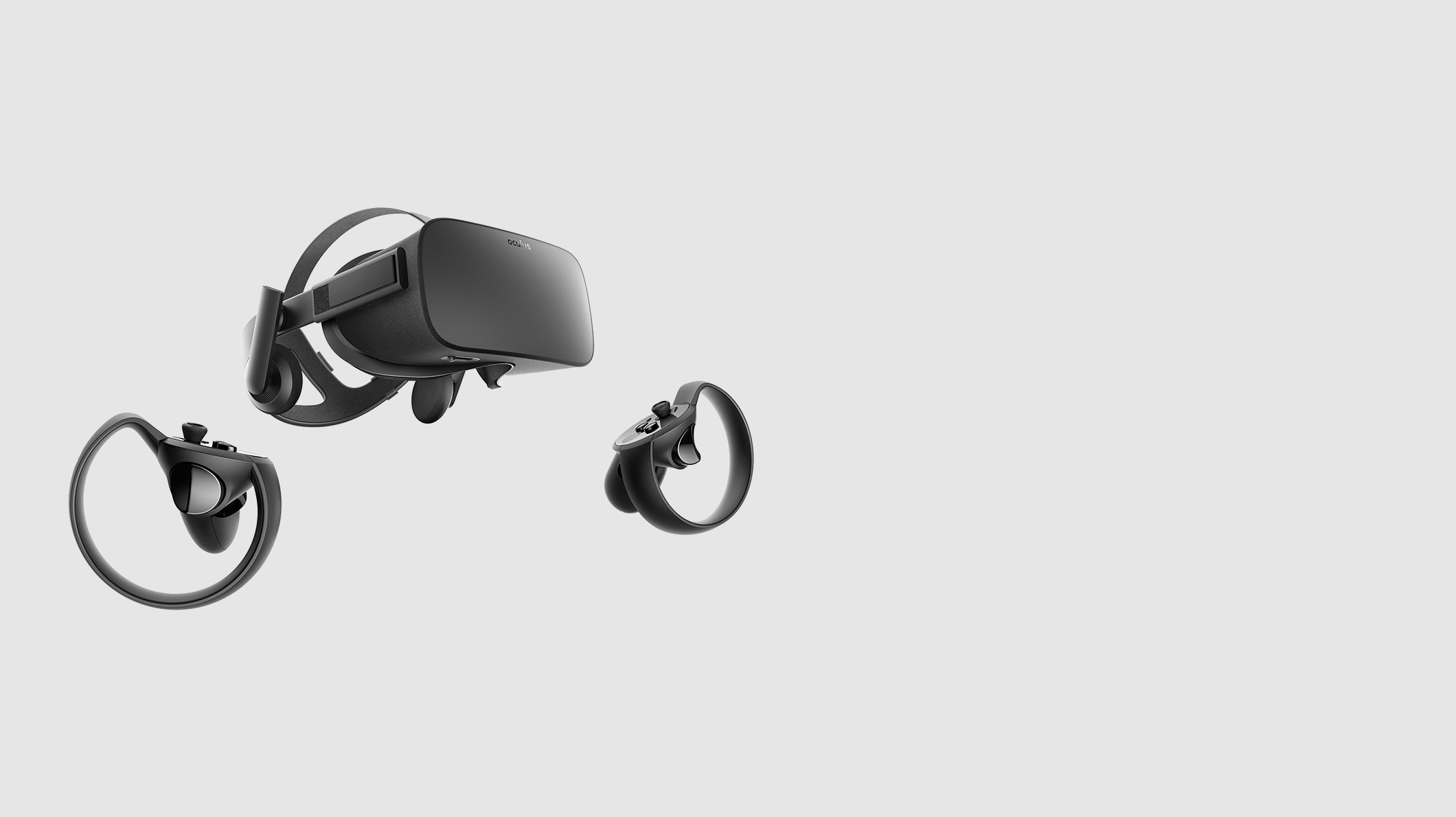 Oculus Rift and two touch controllers