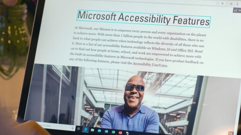 Microsoft quiere eliminar las barreras por discapacidad con inteligencia artificial