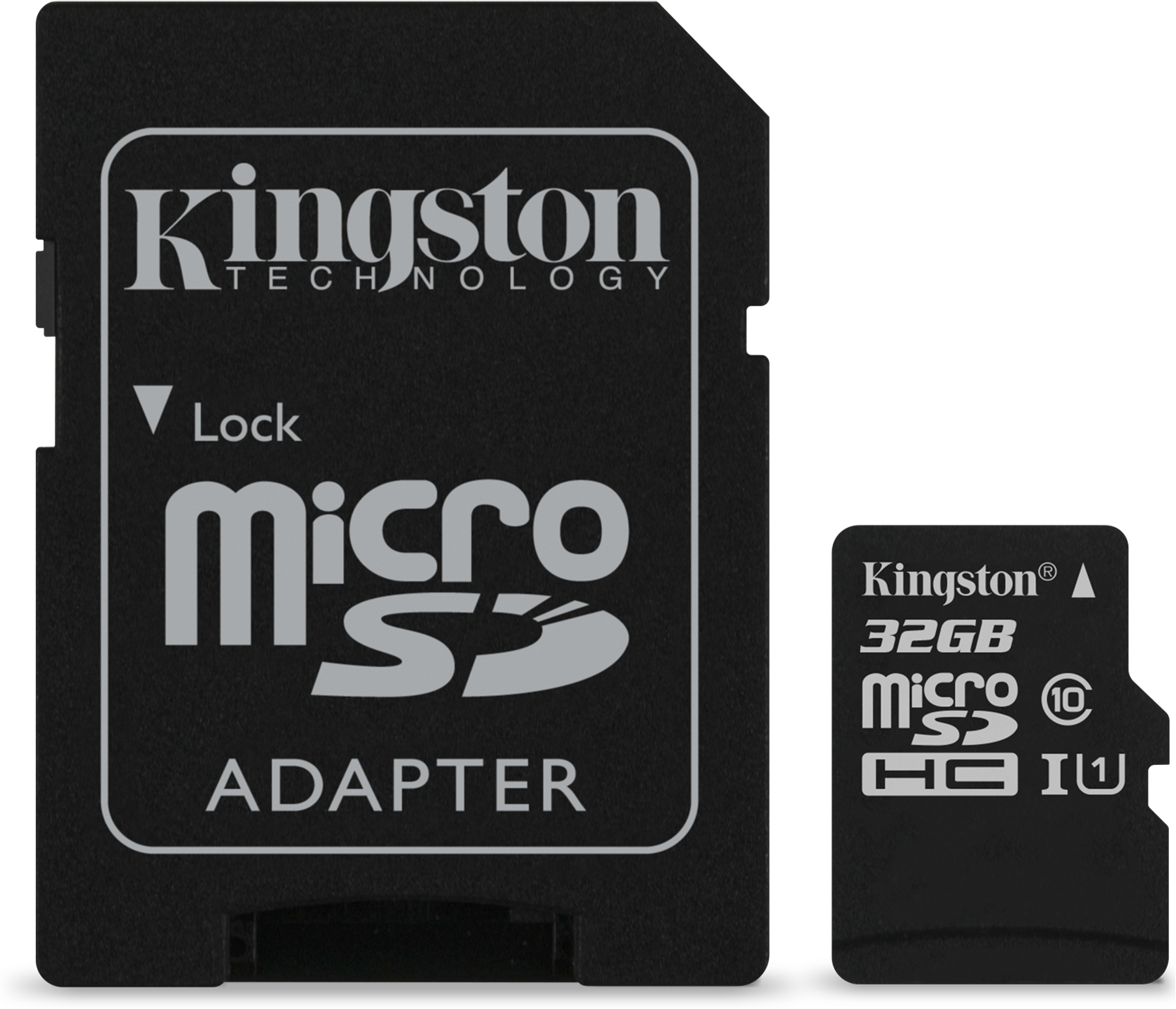 Kingston 32GB microSDXC Canvas Select 80R CL10 UHS-I Card + SD Adapter