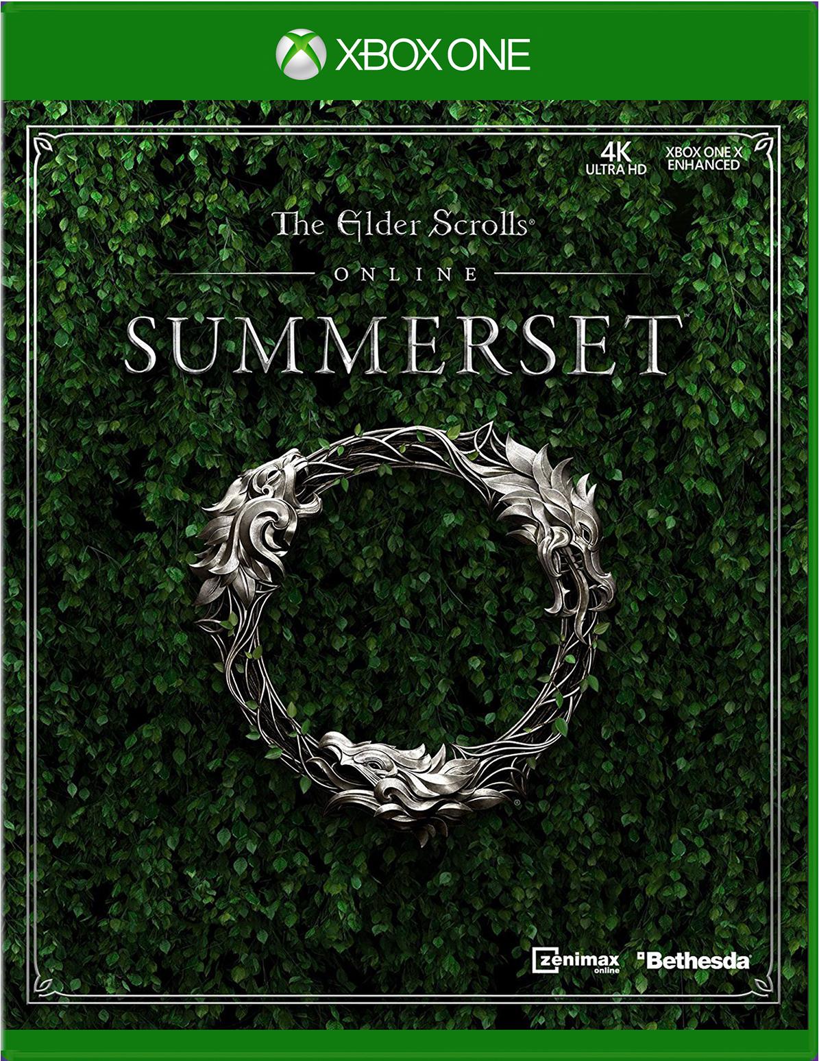 Cover of the Elder Scrolls Online: Summerset