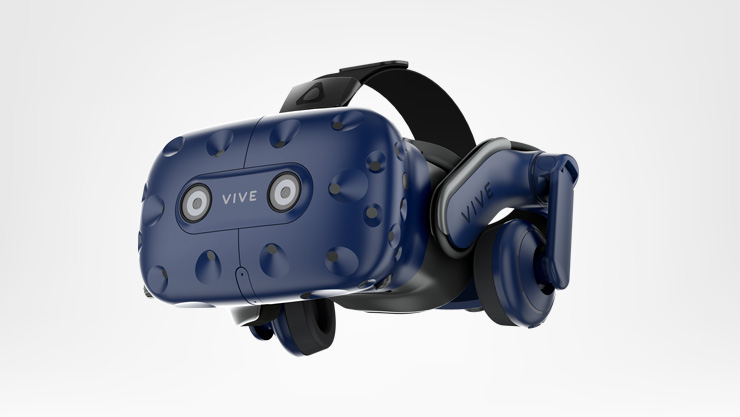 HTC Vive Pro angled to the left