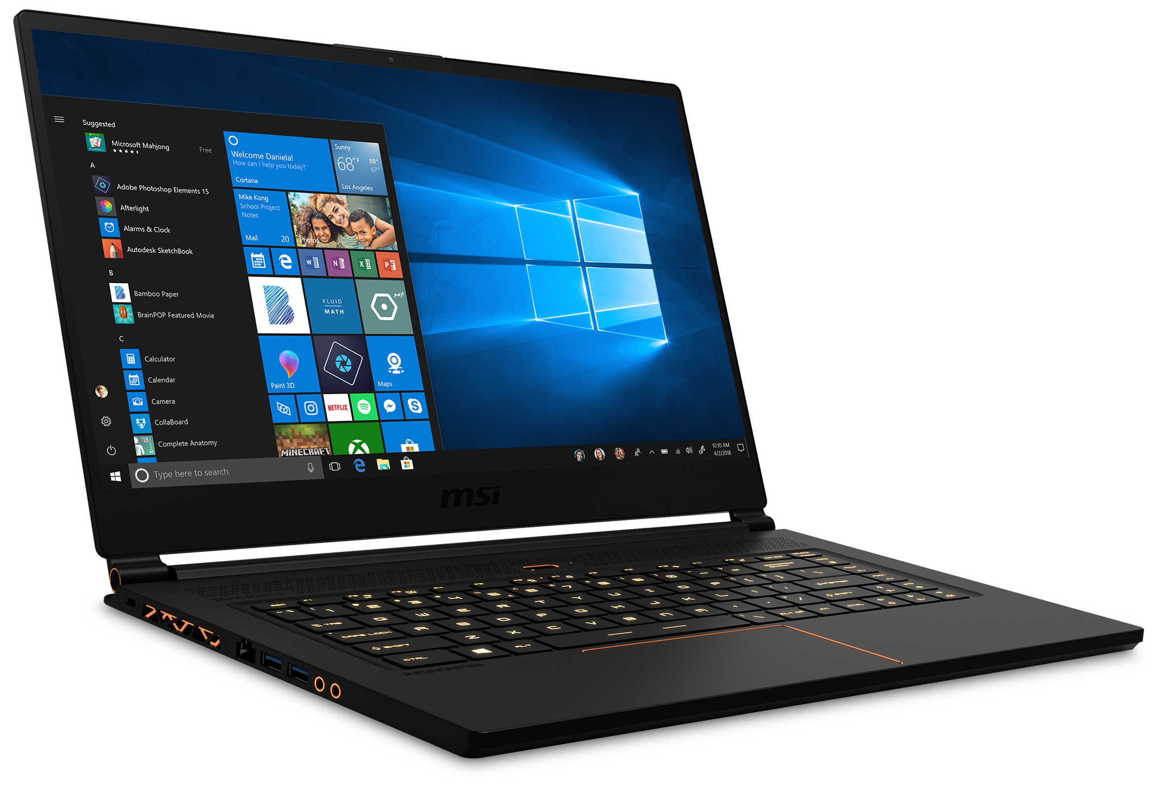 MSI GS65 Stealth THIN-047 GS65047 Gaming PC
