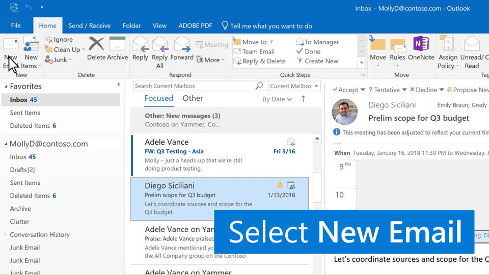 Video Create And Send Email Outlook