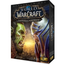 Box art of World of Warcraft: Battle for Azeroth