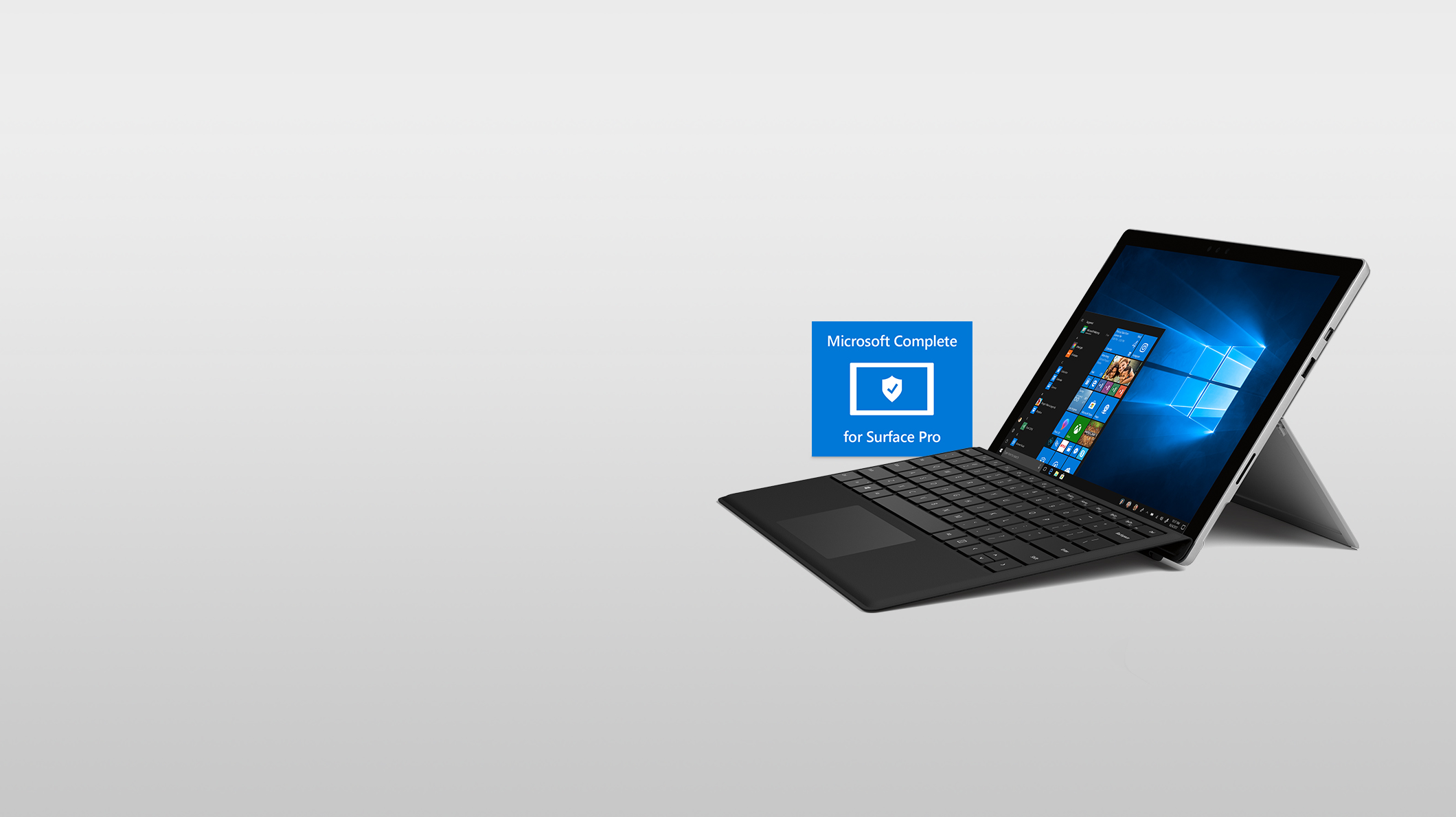 Surface Pro + MS Complete
