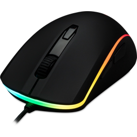 Front left view of the Kingston HyperX Pulsefire Surge RGB Gaming Mouse