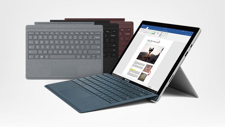 Surface Pro + Type Covers