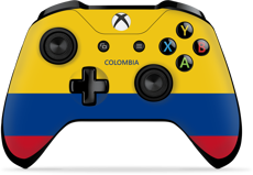 Controller Gear World's Game Controller Skins (Colombia)