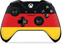 Controller Gear World's Game Controller Skins (Germany)