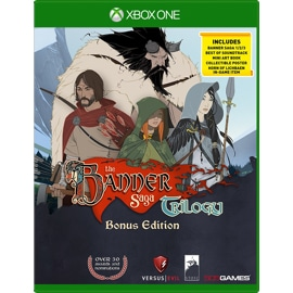 Cover of The Banner Saga Trilogy Bonus Edition for Xbox One