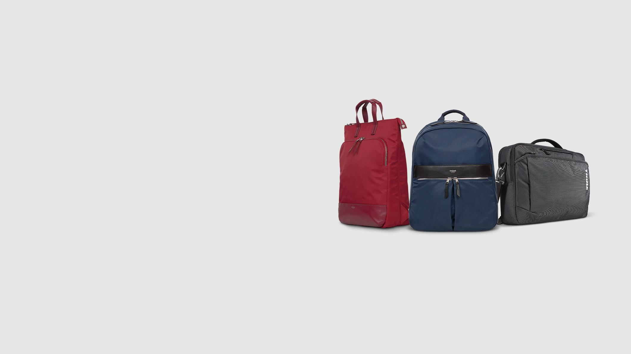 Knomo und Thule Taschen