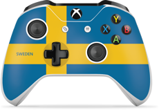 Controller Gear World's Game Controller Skins (Sweden)