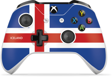 Controller Gear World's Game Controller Skins (Iceland)