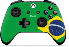 Controller Gear World's Game Controller Skins (Brazil)