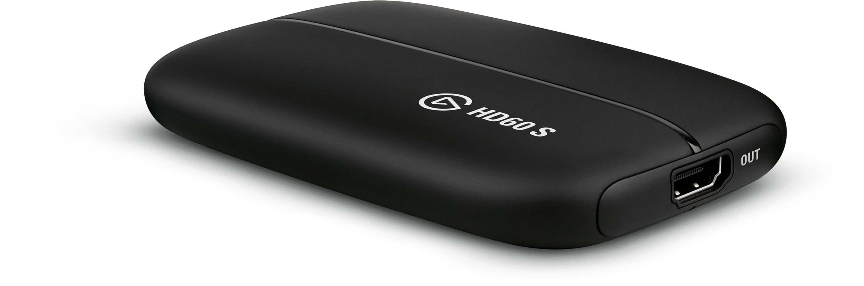 Right birdseye view of the Elgato Systems Game Capture HD60 S