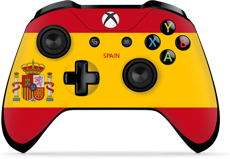 Controller Gear World's Game Controller Skins (Spain)