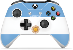 Controller Gear World's Game Controller Skins (Argentina)