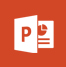 Powerpoint app icon.