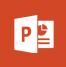 Powerpoint app icon.